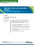 Specialty Fruits and Vegetables Market - Brochure