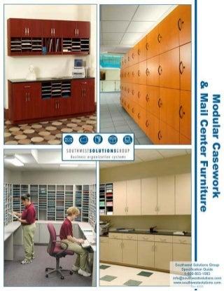 Specification Guide: Modular Casework & Mailroom Furniture