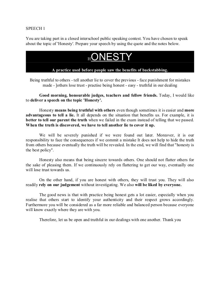 honesty is the best policy student essay Creative essay: honesty is the best policy essay for class 6 for school kids and senior students, long (500 words ) and short essay (200 words) and composition , for class 1,2,3,4,5,6,7,8,9,10,11 and 12.