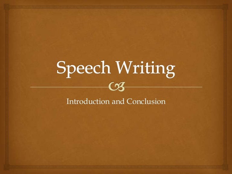 Informative speech introduction example