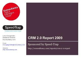Speed-Trap CRM 2.0. Survey