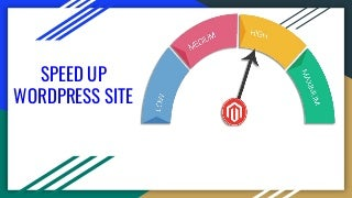Speed up word press site