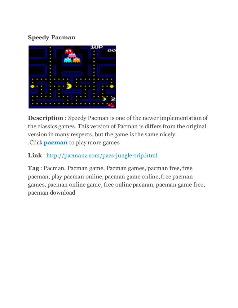 Pacman online play MS PACMAN