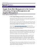 Supply Chain Risk Management Step 3: Risk Mitigation