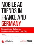Mobile marketing spends between europes 2 biggest markets