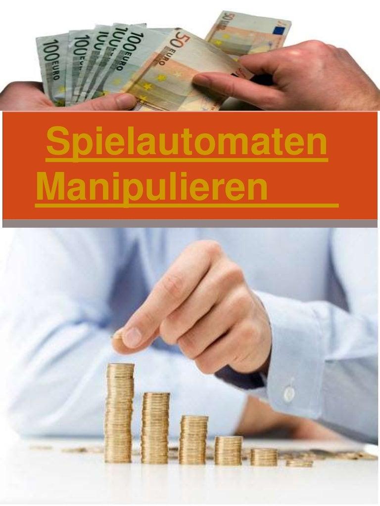 Slotmaschinen Manipulieren