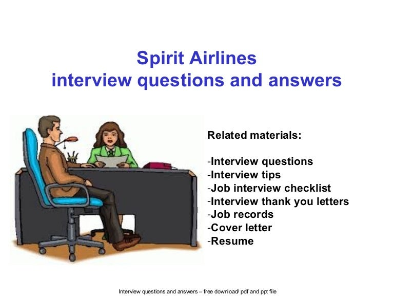 spirit airlines interview questions and answers - Airline Pilot Job Interview Questions And Answers