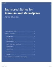 Facebook Sponsored Stories Guide