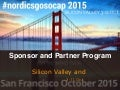 Be a Sponsor and partner! Program 2015