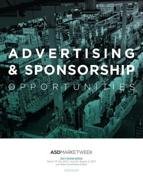 ASD 2018 Advertising & Sponsorship Brochure