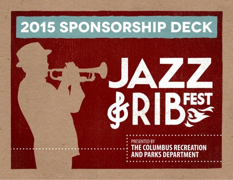 jazz rib fest sponsorship deck