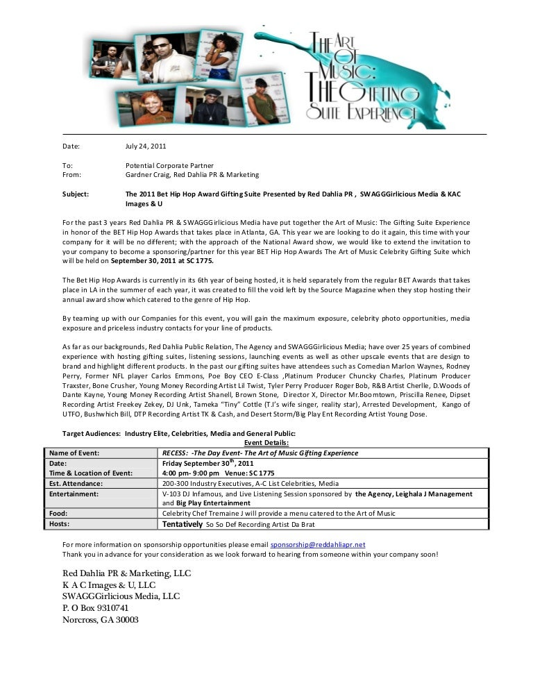 Company Sponsorship Letter. Download Sample Company Sponsorship
