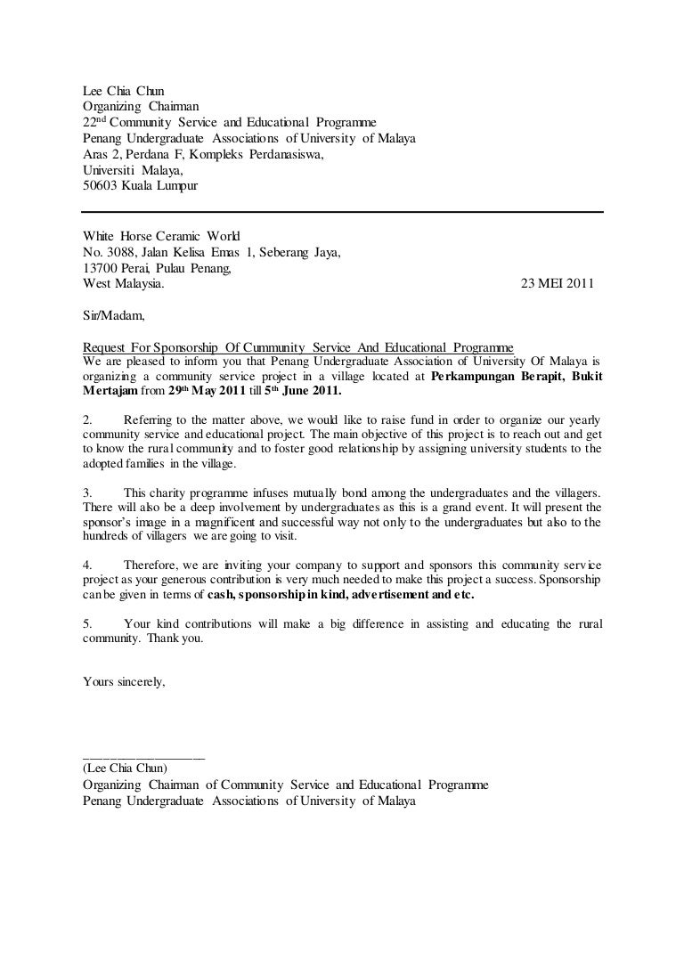 Sample of a proposal letter for an event pasoevolist sample expocarfo