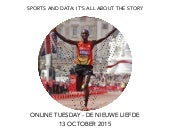 Sport, data and story telling at Online Tuesday