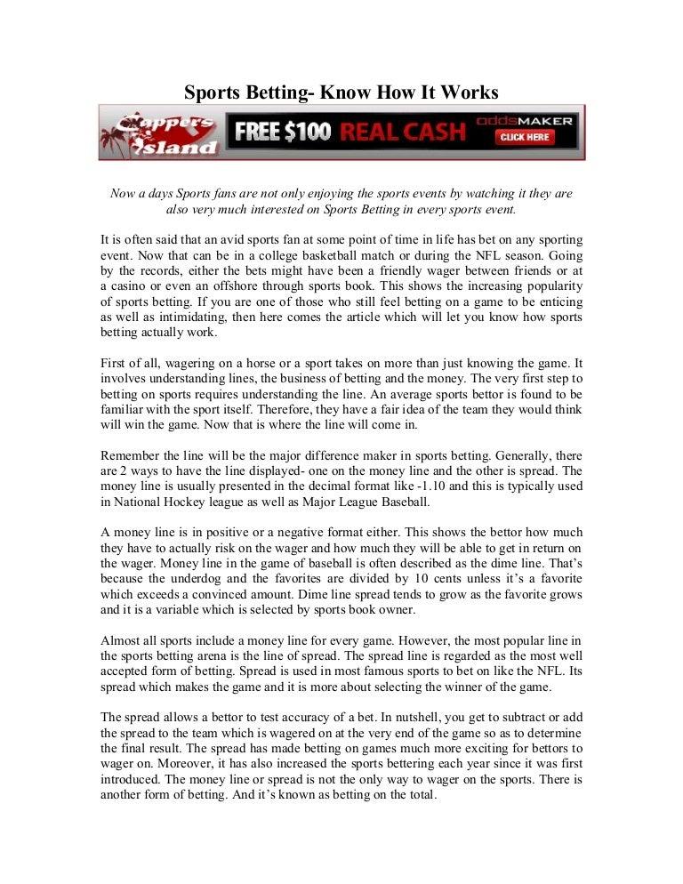 Oddsmaker Free Money