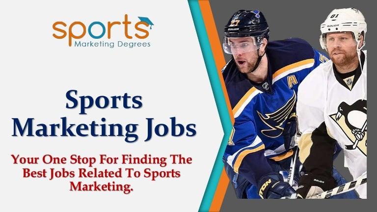 jobs sport marketing