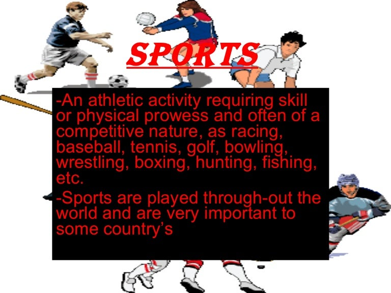 Sport benefits essay