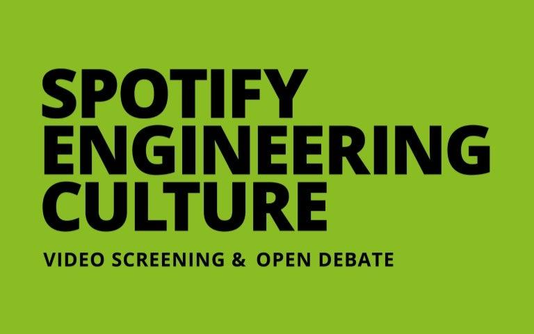 Resultado de imagen para spotify engineering culture