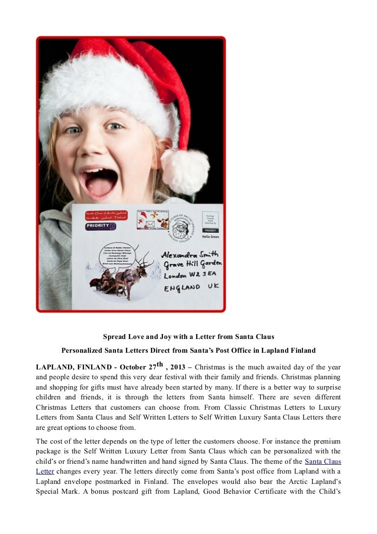 Spread love and joy with a letter from santa claus spreadloveandjoywithaletterfromsantaclaus 131113044358 phpapp02 thumbnail 4gcb1384317845 spiritdancerdesigns Gallery