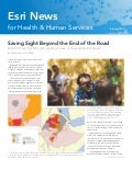 Esri News for Health & Human Services Spring 2013 newsletter