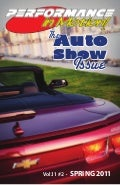 "Spring 2011 - ""Auto Show Issue"" - Performance in Motion magazine"