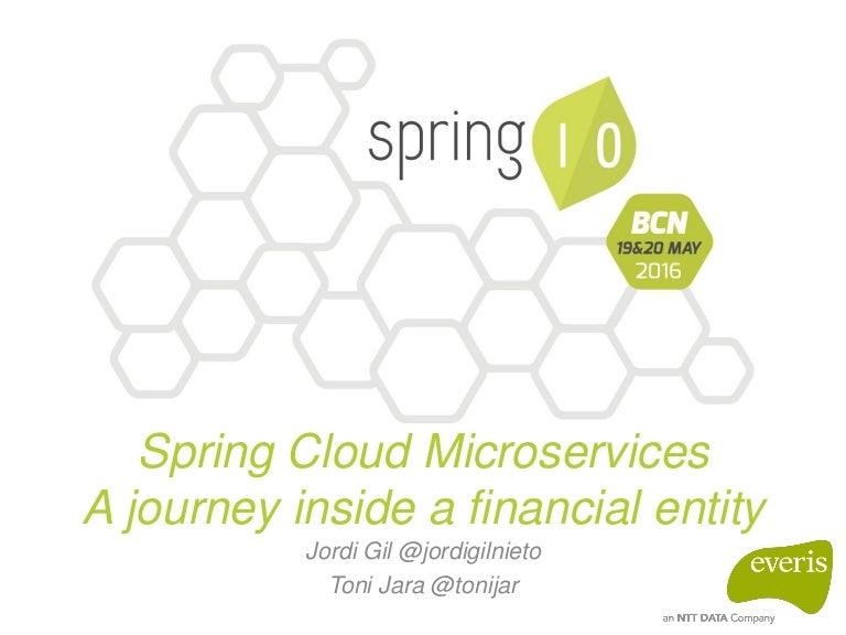 Spring IO 2016 - Spring Cloud