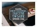 MACPA Spring 2016 Professional Issues Update - Business & Industry Edition