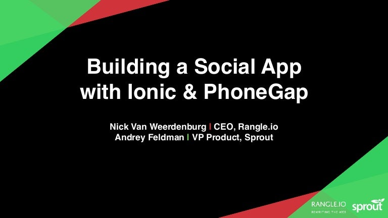 Creating a Comprehensive Social Media App Using Ionic and