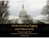 Understanding Tagging and Folksonomy - SharePoint Saturday DC