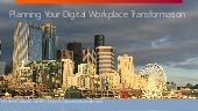 Planning Your Digital Workplace Transformation SharePoint Fest Denver 2017