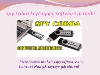 Spy cobra keylogger software in delhi