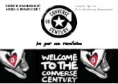 Exploring Brand Equitty: Converse Case Study