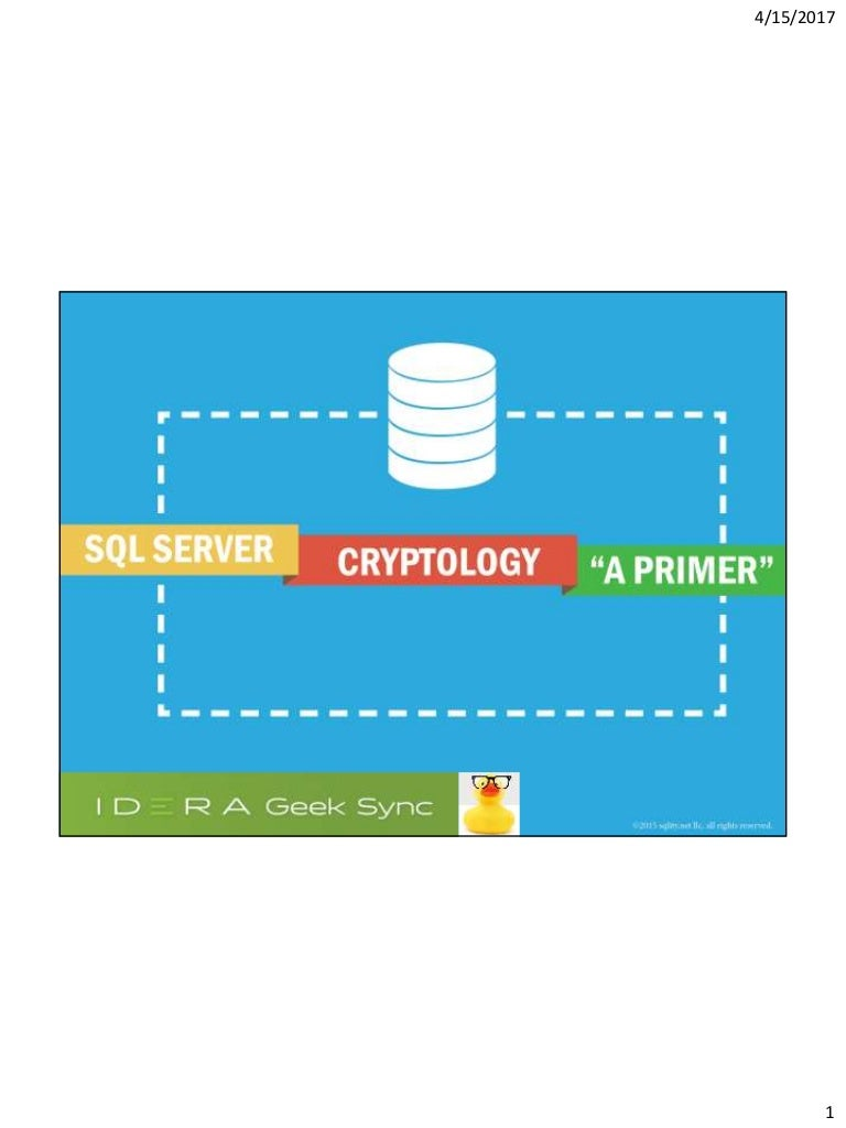 Sql server encryption a primer pooptronica Image collections