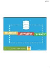 Geek Sync | SQL Server Cryptology – A Primer