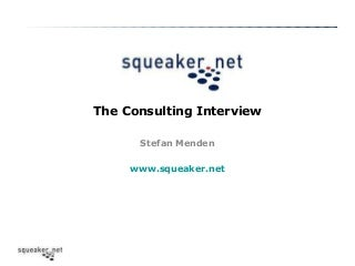 The Consulting-Interview - Case Interview Dos and Donts