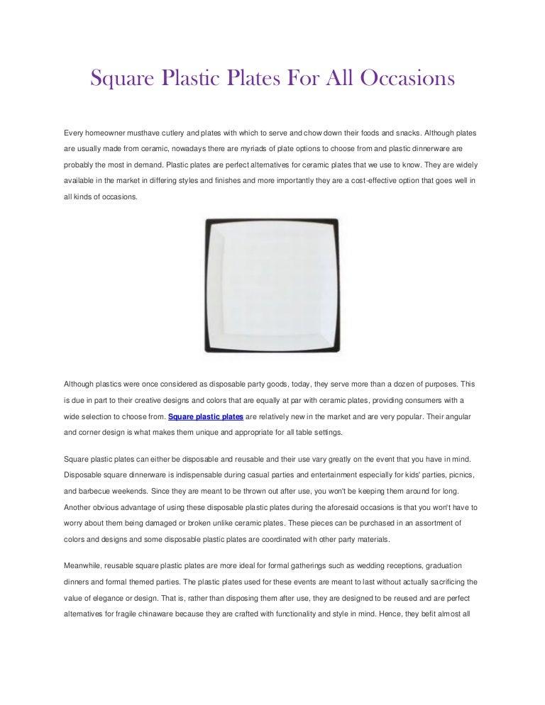 sc 1 st  SlideShare & squareplasticplates-120903132925-phpapp02-thumbnail-4.jpg?cb\u003d1346678999