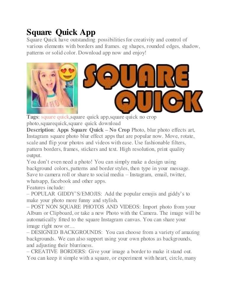 square quick app download
