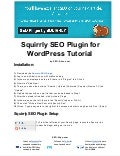 Squirrly SEO Plugin for WordPress Tutorial