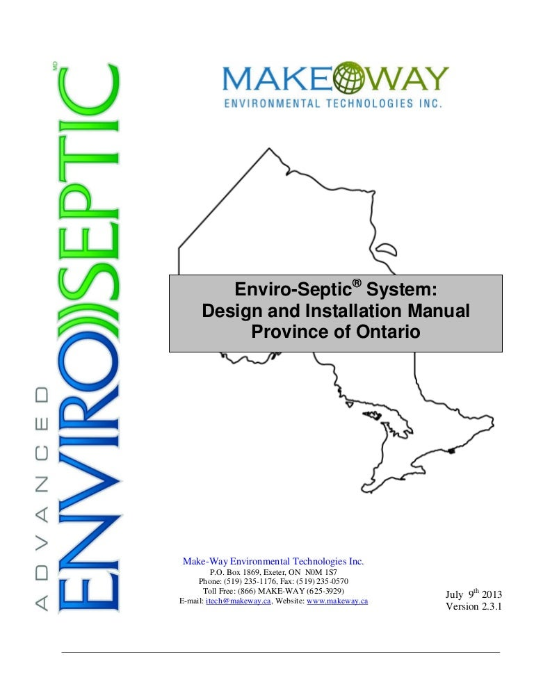 Enviro Septic System
