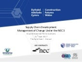 CFW NEC  Management of change under the NEC3