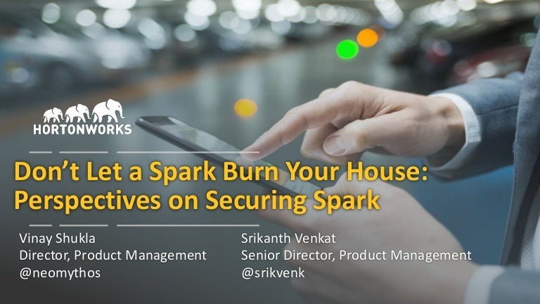 Don't Let the Spark Burn Your House: Perspectives on