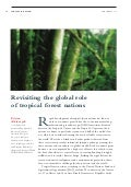 Revisiting the Global Role of Tropical Forest Nations
