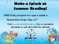 Make a Splash at Summer Reading!