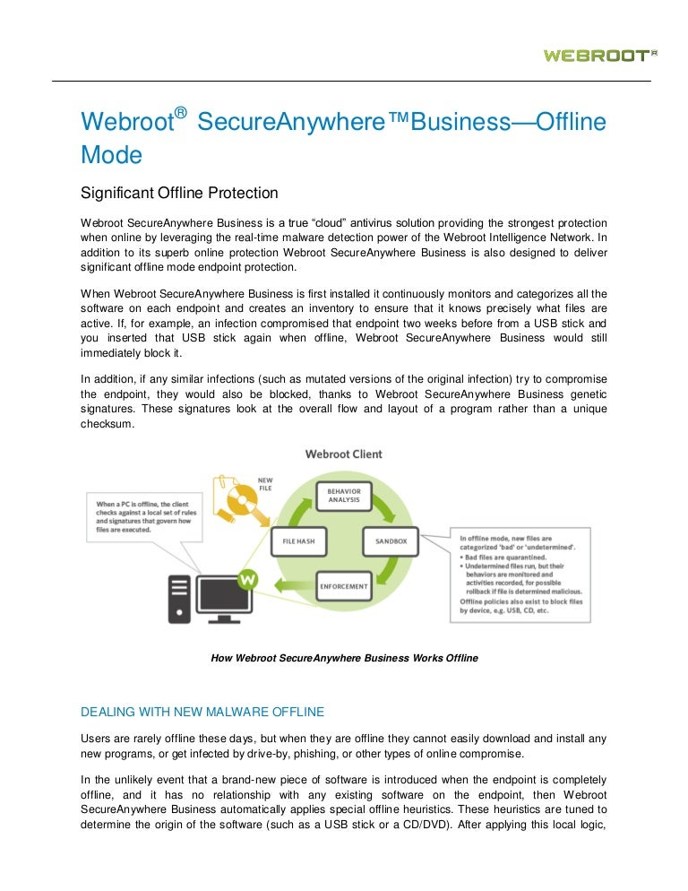 does webroot scan usb drives
