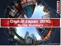 Digital Japan 2010 - By the Numbers