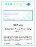 SSD Nodes Celebrates 7-yr Anniversary