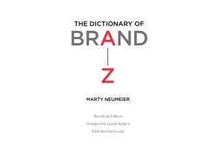 The Dictionary of Brand by Marty Neumeier