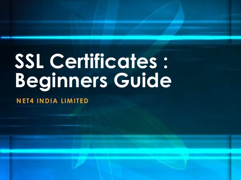 Ssl Certificates Beginners Guide Resellers