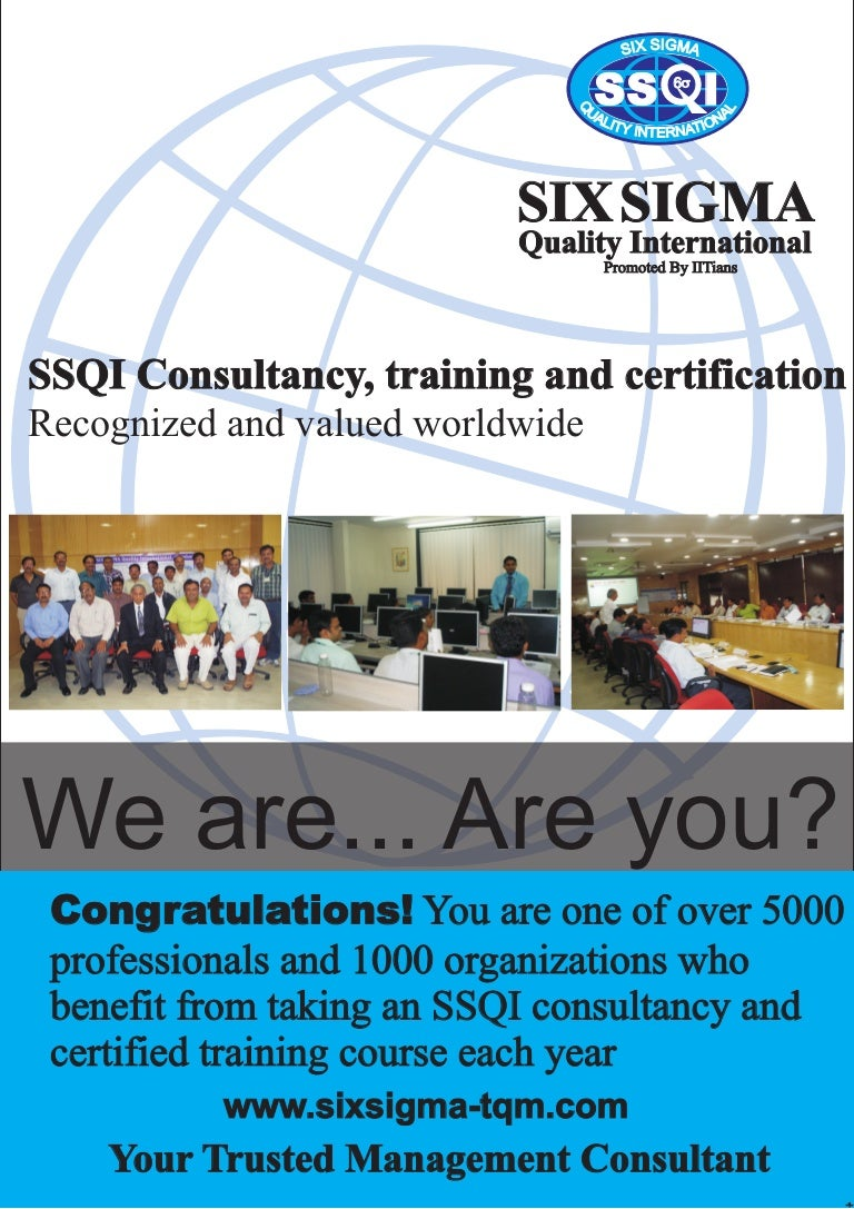 Six sigma brochure for you xflitez Image collections