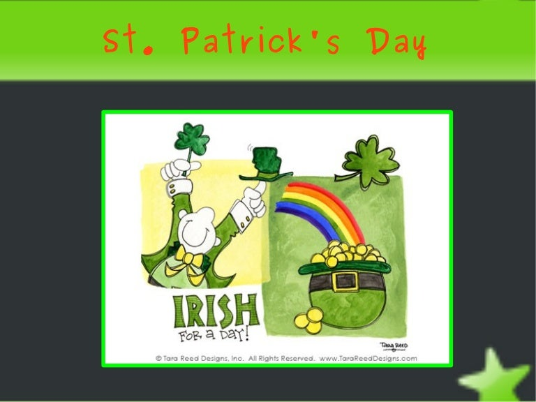 st. patrick's day powerpoint, Powerpoint templates